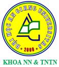 khoa nông nghiệp và tài nguyên thiên nhiên đại học Ang Giang