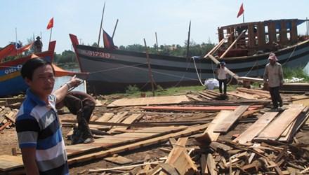đóng tàu gỗ