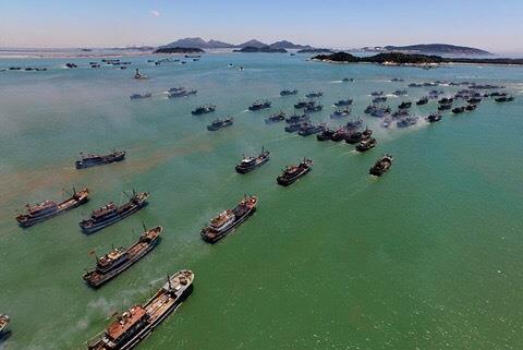 Trung Quốc tràn ra phá biển quốc tế