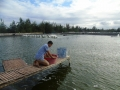 Quảng Bình: Các chủ hồ tôm mong nước biển an toàn để khôi phục sản xuất