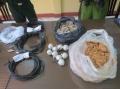 Đồn biên phòng Nam Du: Tiếp nhận 5.2kg thuốc nổ và 29 kíp nổ