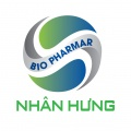 logo NHANHUNG BIOPHARMAR Co.,LTD