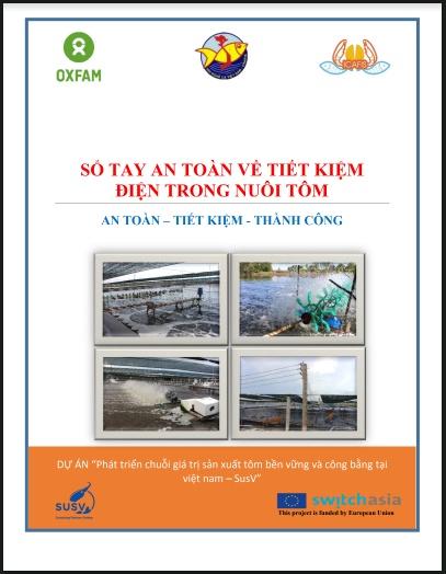 Sổ tay an toàn về tiết kiệm điện trong nuôi tôm