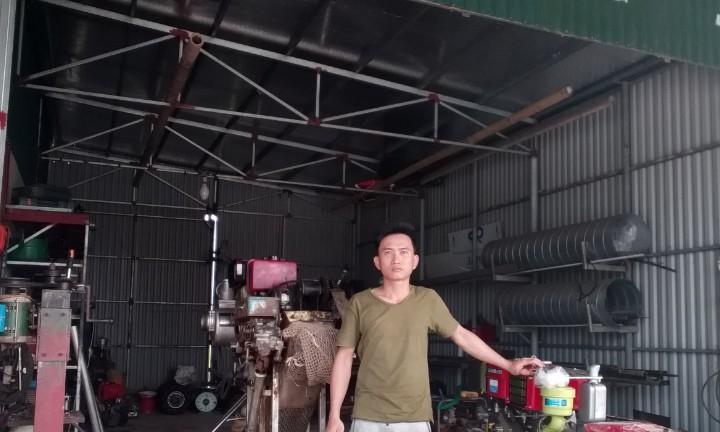 thu hoạch ngao, nuôi ngao, máy thu hoạch ngao, máy thu hoạch nghêu, nuôi nghêu