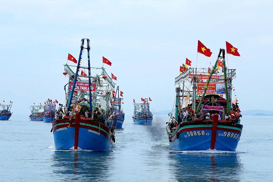 đánh bắt, thẻ vàng, tàu cá, đánh bắt thủy sản, thủy sản Nghệ An