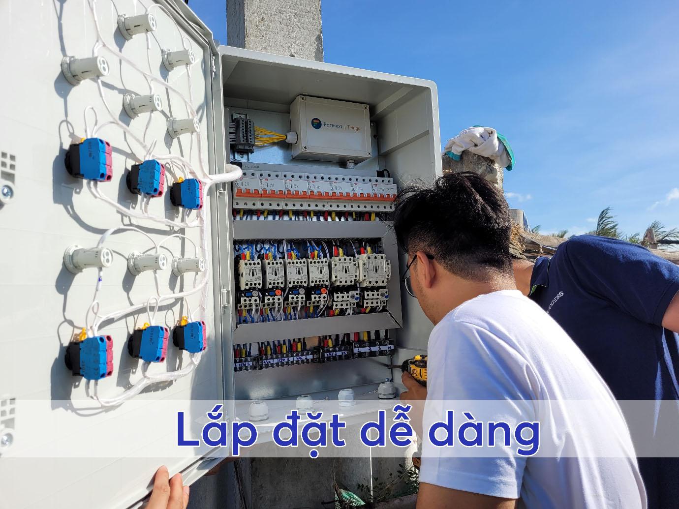 lắp đặt tủ điện