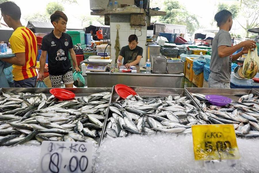 Malaysia sẽ cấm xuất khẩu một số loại cá và tôm