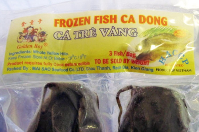 Cá trê đông lạnh Việt Nam nhập khẩu vào Mỹ bị thu hồi