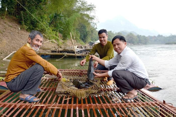 Chiêm Hóa phát triển nghề nuôi cá lồng
