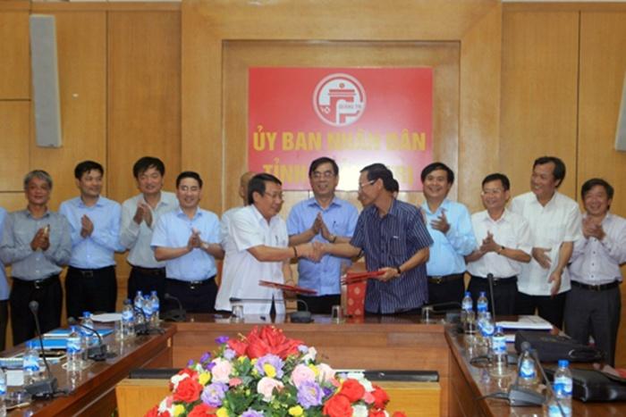 Triển khai dự án nuôi tôm công nghệ cao tại Quảng Trị