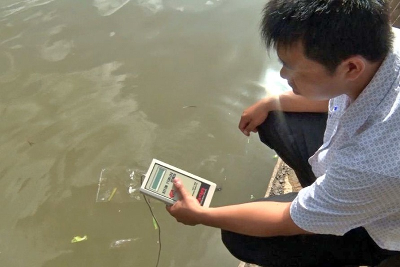 TPHCM: Kết quả quan trắc vùng nuôi thủy sản cuối tháng 3 - 2019