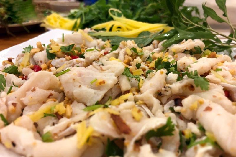 Hương vị biển cả từ gỏi cá bò