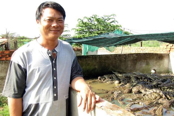 Nông dân Cần Thơ nuôi cá sấu thu lãi tiền tỉ