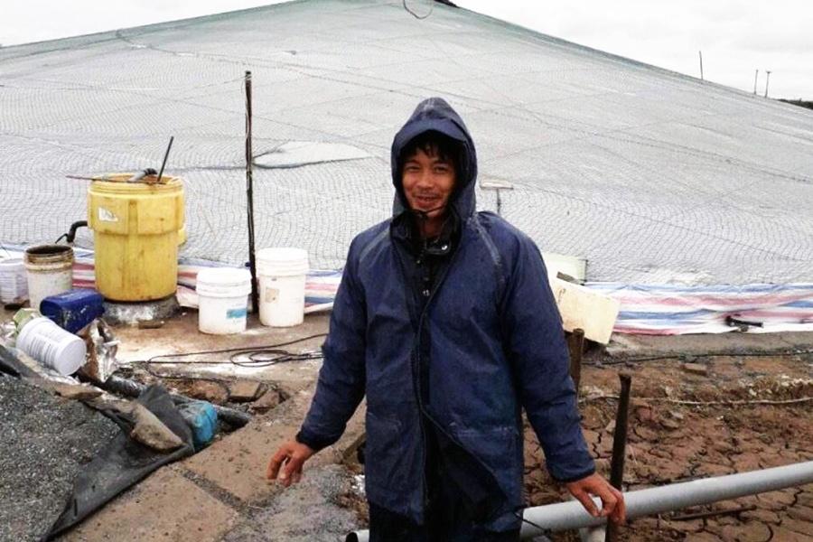 Hải Phòng: Hỗ trợ người dân nuôi tôm trong nhà bạt