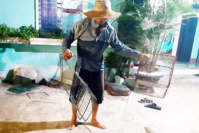 Khó quản lý hoạt động nghề giã cào ven bờ