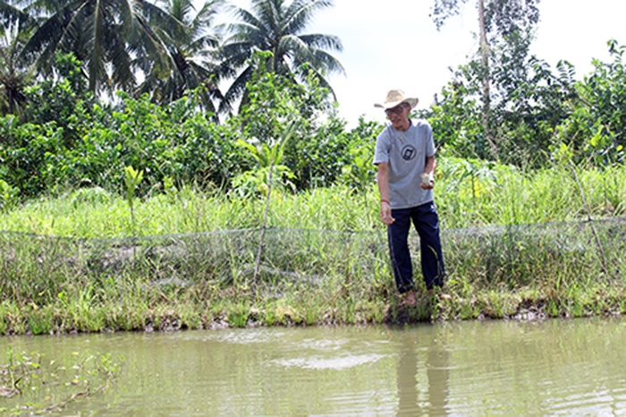 Nông dân Khmer làm giàu nhờ nhạy bén thị trường
