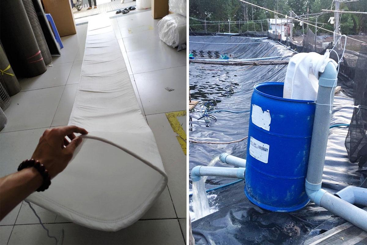 túi lọc nước nuôi tôm