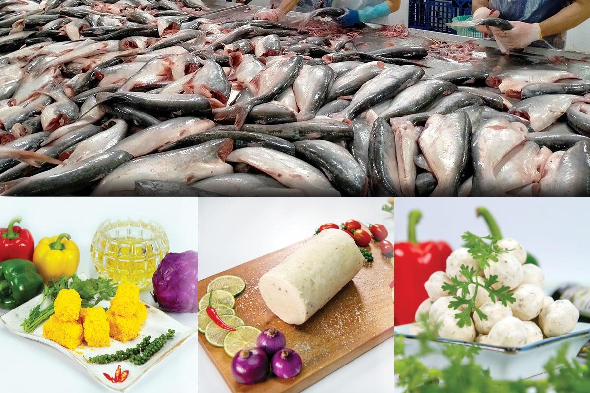 sản phẩm cá tra chế biến