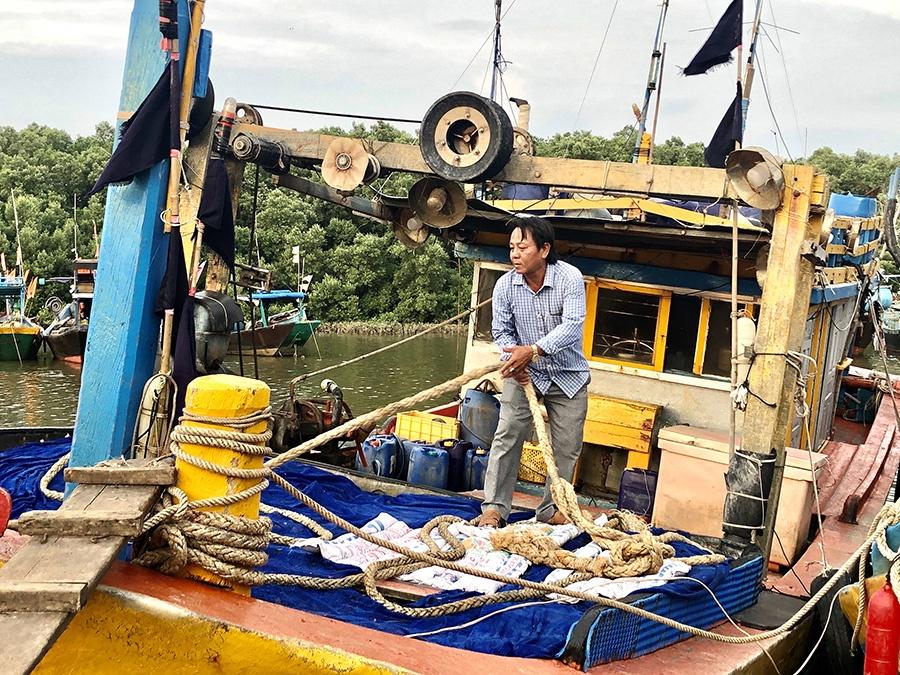 quản lý tàu cá