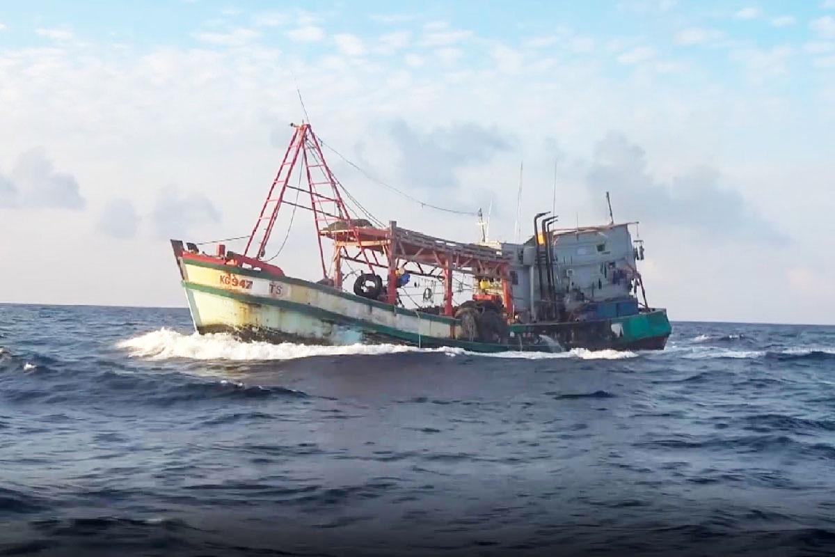 tàu cá vi phạm
