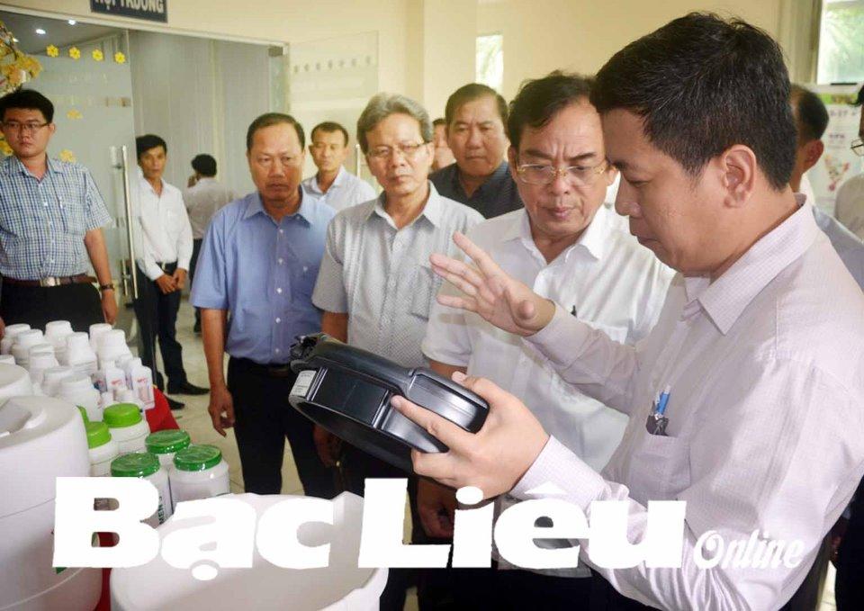 Đưa Bạc Liêu trở thành trung tâm ngành công nghiệp tôm