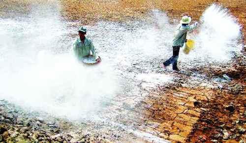 Hóa chất xử lý nước trong nuôi tôm hạn chế và lưu ý