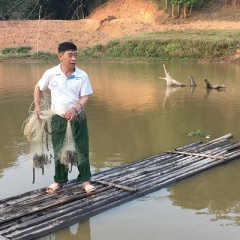 Lãi hơn 200 triệu đồng/năm từ nuôi cá nơi vùng cao