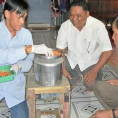 Mới lạ sản phẩm tôm chà bông