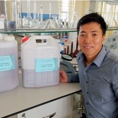 Tiến sĩ trẻ tâm huyết với ngành Thủy sản quê hương