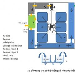 Thiết kế hệ thống xử lý nước thải trong hệ thống trang trại nuôi tôm