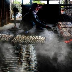 Thơm ngon cá nướng ở làng nghề nổi tiếng Nghệ An