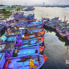 Đà Nẵng: Đấu giá mua bán tại Chợ đầu mối Thủy sản Thọ Quang