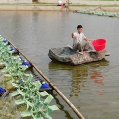 Diễn Châu khoan giếng lấy nước mặn ngầm để nuôi tôm