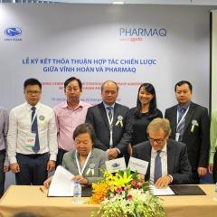 Vĩnh Hoàn bắt tay Tập đoàn Pharmaq nhân rộng vắc-xin cá tra