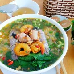 Món bún chỉ Quảng Ninh mới có