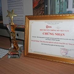 Ứng dụng quản lý trại nuôi Farmext nhận giải thưởng Việt Nam Digital award 2018