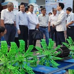 Tìm giải pháp giảm giá thành trong nuôi tôm nước lợ