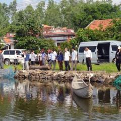 Giám sát nuôi trồng thủy sản tại huyện Tuy An