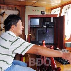Sản lượng đánh bắt thủy sản cao nhờ thiết bị hiện đại