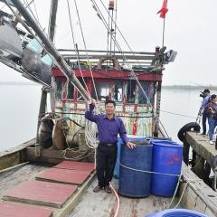 Hiệu quả ứng dụng khoa học công nghệ trong đánh bắt hải sản