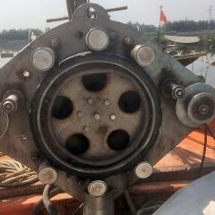 Máy thu lưới thủy lực cho tàu lưới rê tầng đáy