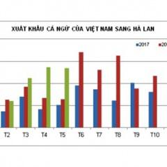 Việt Nam chiếm lĩnh thị trường cá ngừ đông lạnh Hà Lan