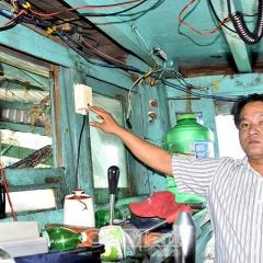 Mất sóng thiết bị giám sát hành trình tàu cá