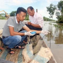 Kiên Giang: Mật độ Vibrio tổng số trong nước tăng mạnh