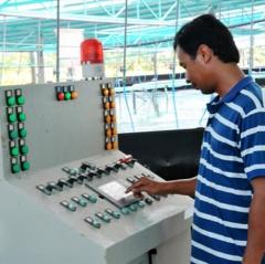 Bạc Liêu: Ứng dụng tự động hóa trong nuôi tôm siêu thâm canh