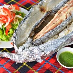 Về đồng ăn cá lóc nướng muối