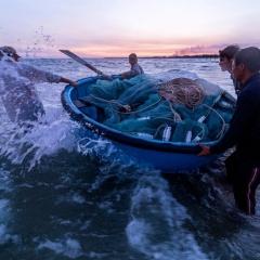Thuyền thúng: Giá trị văn hóa của nghề biển Việt Nam