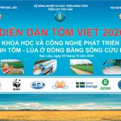 Icafis: Thông báo Diễn đàn tôm Việt 2020