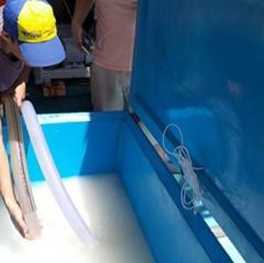 Công nghệ đá sệt thay đổi phương thức bảo quản thủy sản trên tàu cá ở Việt Nam