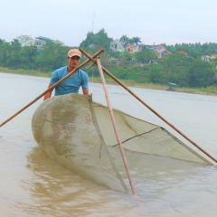 Độc đáo nghề đánh cá bống trên sông Lô